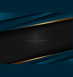 Abstract template dark blue luxury premium on vector