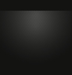Black metallic perforated pattern vector