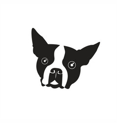 cute doggy logo vector image