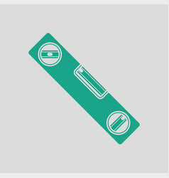 icon of construction level vector image