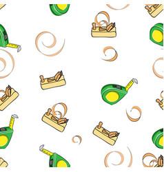 seamless pattern of toseamless pattern of tools vector image