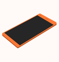 smartphone isometric on a white background vector image