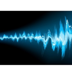 Sound wave abstract background eps 10 vector