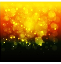 Bright lights backgroundChristmas Blurred bokeh vector image
