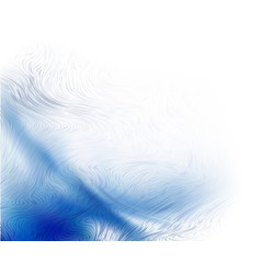 abstract blue background futuristic wavy vector image