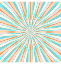 Abstract Colorful Retor Rays Background vector