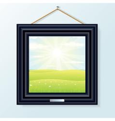 Artwork Picture Frame vector