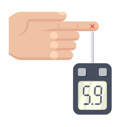 diabetes concept vector image
