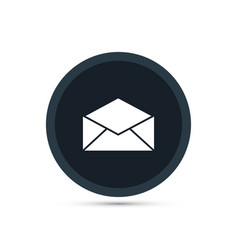 envelop icon simple business sign vector image