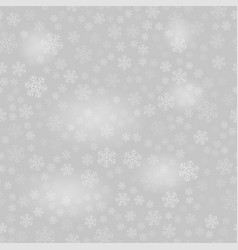 Show flakes pattern on grey sky background vector