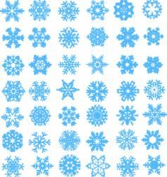 Snow design vector