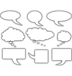 Speech Bubble vector
