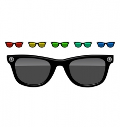 Sunglasses illustration vector