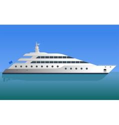 Yacht vector
