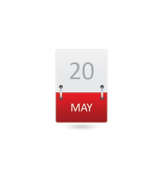 Date Icon vector image vector image