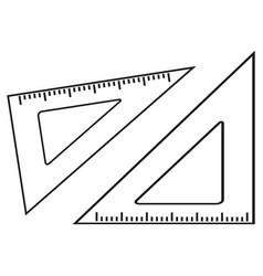 lineups school online icons vector image vector image