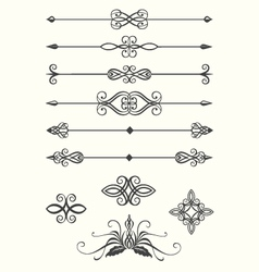 line dividers vector image vector image