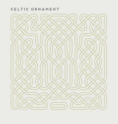 celtic ornament vector image vector image