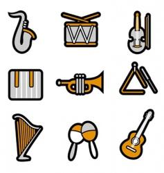 instrument icon vector image