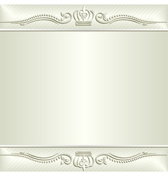 ecru background vector image