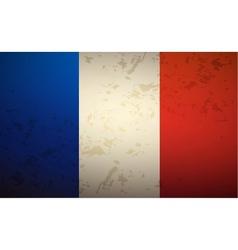Flag france vector