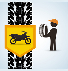 repair design auto icon isolated vector image