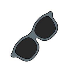fashion sunglasses isolateed vector image