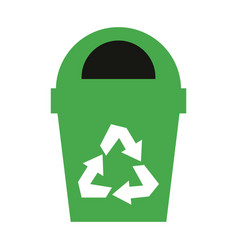 recycling related icon image vector image