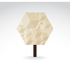 Symbolic tree vector image vector image