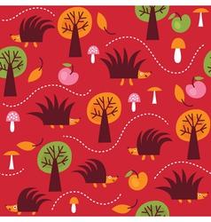 children fabric design vector image