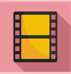 animation film icon flat style vector image