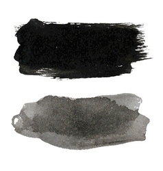 Black Blots Set vector