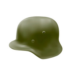 german helmet in vector image