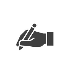 Handwriting icon images vector