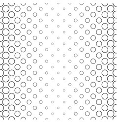 monochrome circle pattern - background vector image