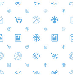 Opportunity icons pattern seamless white vector