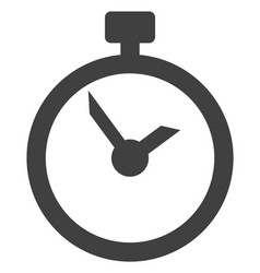 time flat icon symbol vector image