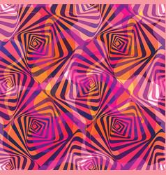 Warped rhombuses waves and vector