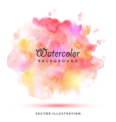 Watercolor stains vector