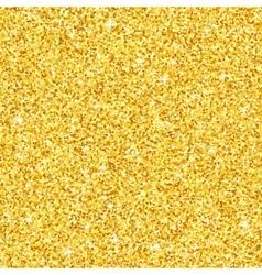 Gold glitter seamless pattern texture vector image