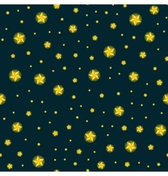 stars seamless pattern for christmass vector image vector image