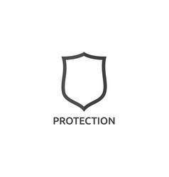 isolated shield icon logo symbol vector image