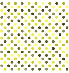 Polka dot pattern seamless dot background vector