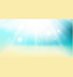 abstract gradient backdrop panorama beach sea and vector image