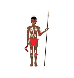 Australian aborigin vector