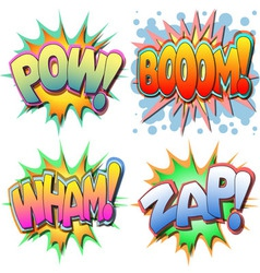 comic book vector image