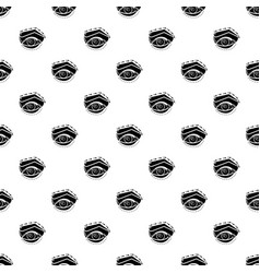 Eyelid elevation pattern seamless vector