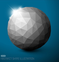 Geometric baubles vector
