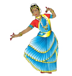 Indian dancer vector image