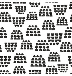 scandinavian seamless pattern for decoration vector image